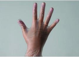 Одноразовые перчатки виниловые