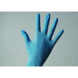 Одноразовые перчатки нитриловые